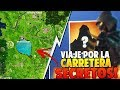 *FILTRADO* SECRETOS QUE NO SABIAS de VIAJE POR CARRETERA |  FORTNITE: Battle Royale