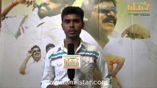 Vetri Speaks at Azhagan Murugan Movie Audio Launch