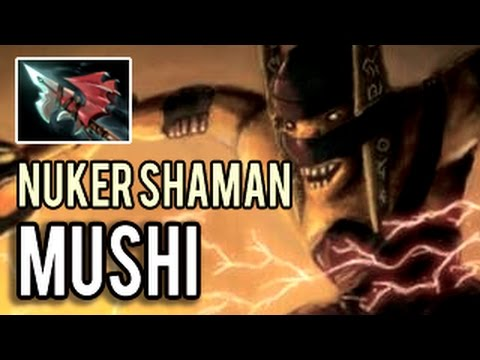 Mushi Nuker Shaman Mid Intense Base Race SEA Pub Dota 2