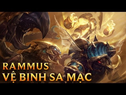 Rammus Vệ Binh Sa Mạc - Guardian of the Sands Rammus