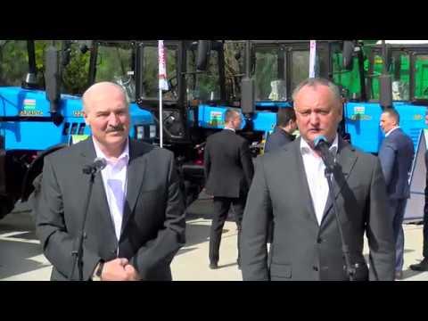 "Igor Dodon și Alexandr Lukașenko au efectuat o vizită la Institutul de Fitotehnie ""Porumbeni"""