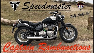 9. 2018 Triumph Speedmaster 1200 HT  - 1st Ride & Review