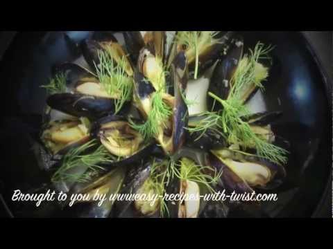 Mediterranean Diet: How to Make a Simple and Easy Mediterranean Style Mussels Appetizer