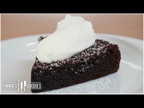 Chocoholic's Flourless Chocolate Cake Recipe - Gluten Free Cake!
