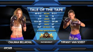 Video Fight of the Week: Tiffany Van Soest Unleashes Hell at Lion Fight 21 MP3, 3GP, MP4, WEBM, AVI, FLV September 2019