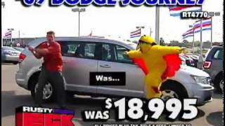 Rusty Eck Ford Samurai Slashing Prices TV Comm..mp4