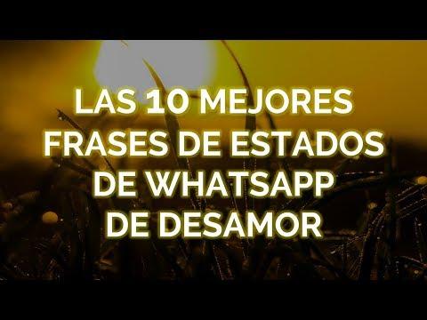 Frases para whatsapp - Las 10 Mejores Frases De Estados Para Whatsapp De Desamor
