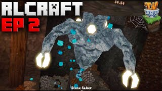I Got ATTACKED By DIAMOND ORE In RLCraft!! [Modded Minecraft]