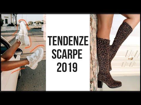 TENDENZE SCARPE 2019: come vestirsi bene con le scarpe più alla moda!