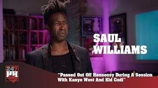Saul Williams - Passed Out During A Session With Kanye West & Kid Cudi (247HH Exclusive)