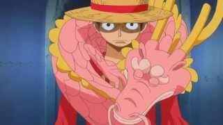 Luffy usa Haki su Punk Hazard