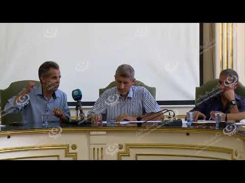 مؤتمر صحفي لمخاتير محلات بلدية طرابلس المركز بخصوص ترتيبات العيد