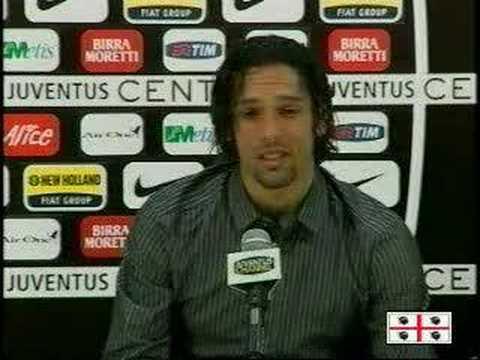 Presentación de Amauri en la Juventus