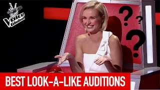 Video BEST LOOK-A-LIKE BLIND AUDITIONS IN THE VOICE MP3, 3GP, MP4, WEBM, AVI, FLV Juli 2018
