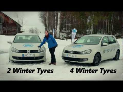 tyres - We did a test to see the difference of putting 2 winter tyres vs 4 winter tyres to a car. Find out what happens when you drive on ice in Sweden. Tyre advice ...