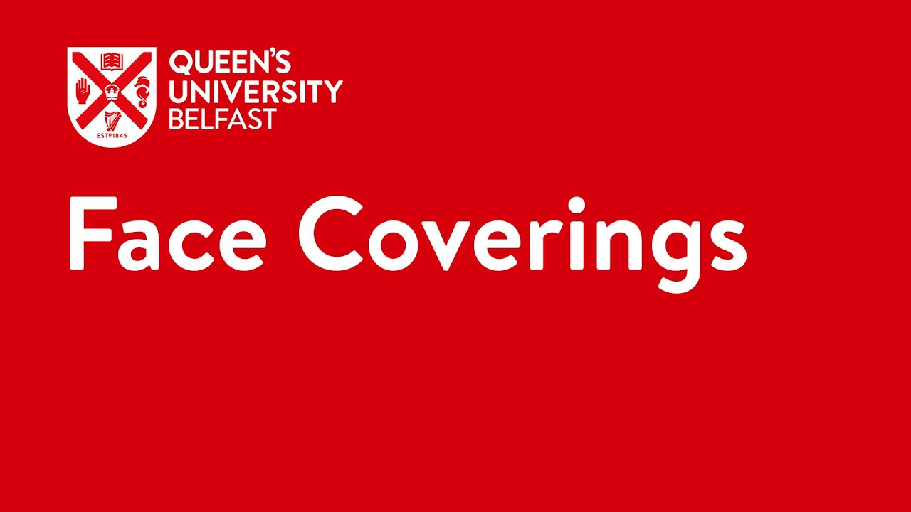 Video Thumbnail: Face coverings