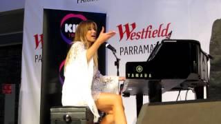 DELTA GOODREM'S Q&A PLUS SONGS IN STORE @WESTFILEDS PARRA 30/7/15