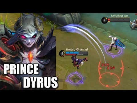 NEW HERO DYRUS FIRST GAMEPLAY