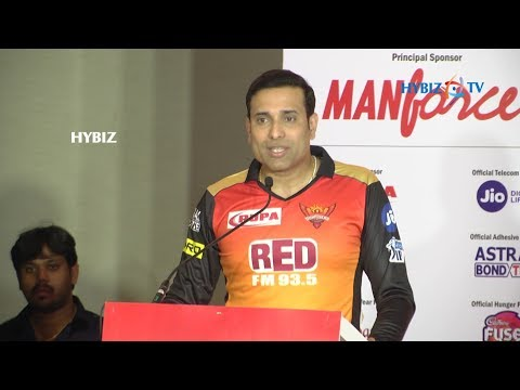 Sunrisers Hyderabad Jersey Unveiled - VVS Laxman