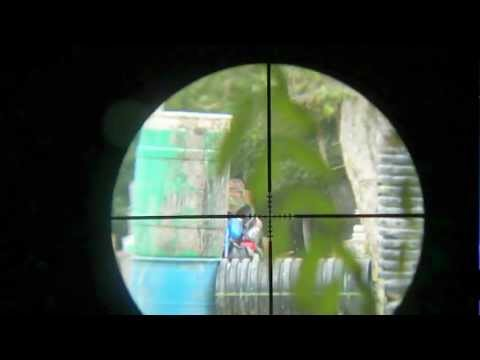 Paintball Scope Sniping