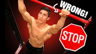NEVER DO PULL-UPS LIKE THIS! | 10 Most Common Mistakes