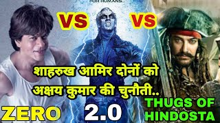 Video Robot 2.0 vs Zero vs Thugs of Hindostan 3 clashes between 20 days gap, Akshay Kumar, Aamir, Shahrukh MP3, 3GP, MP4, WEBM, AVI, FLV Januari 2019