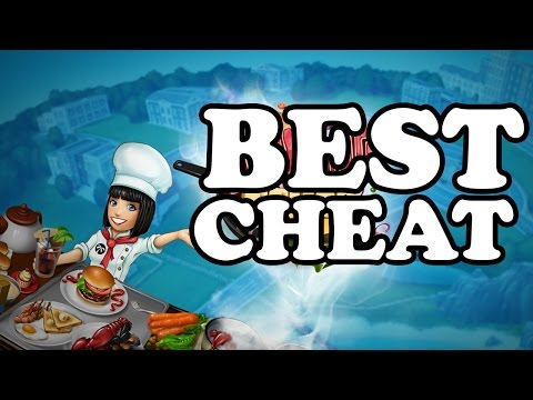 COOKING FEVER Gems Cheat | UNLIMITED FREE GEMS & COINS For IPad, IPhone (iOS) And Android