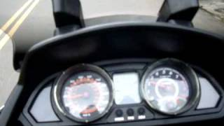 8. My Road 700 Kymco with Dr.Pulley HiT302001, riding test2.MPG