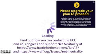 https://www.battleforthenet.com/july12/ - Fight to keep Net Neutralityhttps://www.eff.org/issues/net-neutralityhttps://netneutrality.internetassociation.org/action/This is a short video explaining in simple terms what Net Neutrality is and the consequences of abolishing it with the dishonestly named Restoring Internet Freedom Act. You are encouraged to share this non-profit video with anyone and if you wish to use it in your videos or streams, it is licensed under Creative Commons for free use, with attribution and without any alteration. You can download the video for your use using any Youtube Downloader program or site.Sources for claims made in this video can be found below.Short 2014 Net Neutrality video - https://youtu.be/rz4Ej3IVefohttps://www.extremetech.com/internet/249575-fcc-votes-kill-net-neutrality-dismantle-title-ii-rules-governing-ispshttps://arstechnica.com/tech-policy/2017/05/net-neutrality-goes-down-in-flames-as-fcc-votes-to-kill-title-ii-rules/http://www.twcondemand.com/http://bgr.com/2017/05/23/comcast-fcc-net-neutrality-legal-analysis/https://arstechnica.com/tech-policy/2017/04/isps-claim-to-love-net-neutrality-while-praising-death-of-net-neutrality-rules/https://www.engadget.com/2017/05/24/comcast-tries-to-shut-down-pro-net-neutrality-site/https://www.wired.com/2017/01/dont-gut-net-neutrality-good-people-business/https://www.technologyreview.com/s/603432/what-happens-if-net-neutrality-goes-away/https://www.ft.com/content/2469772e-2f19-11e7-9555-23ef563ecf9a?mhq5j=e1https://actionnetwork.org/petitions/dont-mess-up-the-net-with-partisan-politicshttps://arstechnica.com/tech-policy/2017/05/net-neutrality-comments-are-being-spammed-with-anti-obama-boilerplate/https://consumerist.com/2017/05/10/astroturfing-robot-spamming-fcc-site-with-anti-net-neutrality-comments/