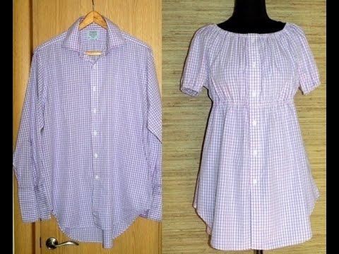 Как сшить платье-рубашка своими руками