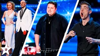Watch the auditions from EPISODE 5 of Britain's Got Talent 2017! Including singer Jamie Lee Harrsion, sword throwers Tyrone & Mina and GOLDEN BUZZER winner M...