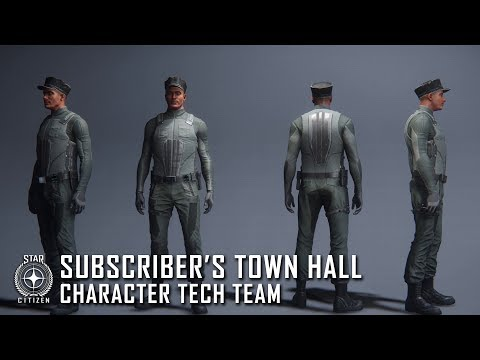 Star Citizen: June Subscriber's Town Hall feat. Character Tech Team
