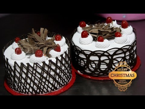 Amazing CHRISTMAS CAKES!! Special Delicious Black Forest Cake Decoration | MERRY CHRISTMAS
