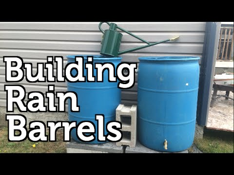 Make Your Own Rain Barrels