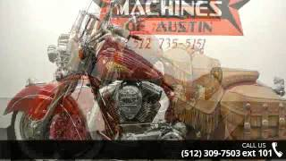 3. 2010 Indian Chief Roadmaster  - Dream Machines Indian Mot...