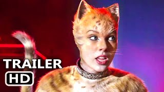 CATS Trailer # 2 (NEW 2019) Taylor Swift, Idris Elba, Ian McKellen Movie