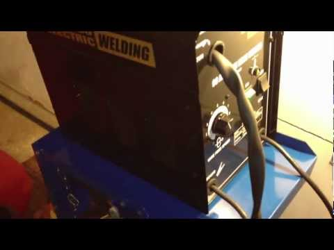 Wire Welder, 90 Amp Flux Chicago Electric Welding – Item#68887 Review Harbor Freight Tools -Part 1/3