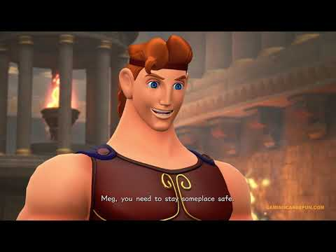 KINGDOM HEARTS 3 MOVIE | DISNEY'S HERCULES (ALL CUTSCENES OLYMPUS) 4K UHD