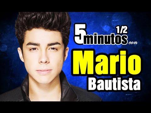 5 MINUTOS 1/2 CON MARIO BAUTISTA - Bau nos contó sobre su concierto en el Auditorio Nacional :D