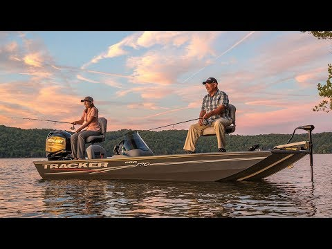 TRACKER Boats: 2018 Pro 170 Aluminum Fishing Boat