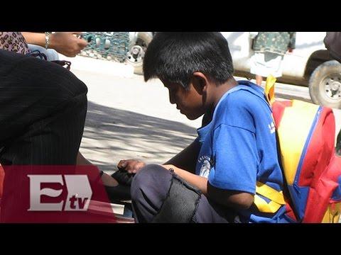 Deplorables condiciones de la niñez en México