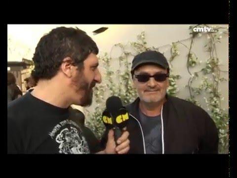 Las Pelotas video Entrevista a Germán Daffunchio - Buenos Aires - Octubre 2014