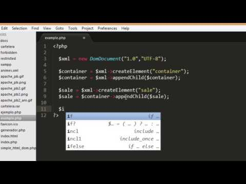 Video How to create xml file with php download in MP3, 3GP, MP4, WEBM, AVI, FLV January 2017