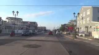 Seaside Heights (NJ) United States  city photo : DRIVE THROUGH SEASIDE HEIGHTS (OCEAN AVE) - NJ New Jersey Shore Ocean Beach View Travel Guide