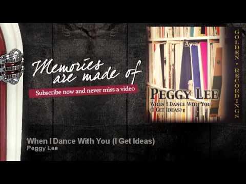 Tekst piosenki Peggy Lee - I Get Ideas po polsku