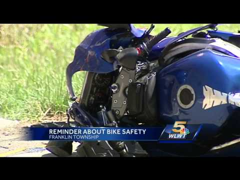 Man injured in motorcycle crash in Franklin Township