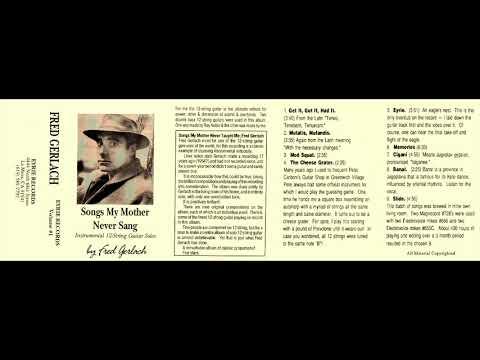 Fred Gerlach - Songs My Mother Never Sang (1968) [Full Album]