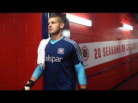 Video: Chicago Fire GK Matt Lampson