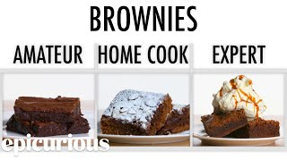 4 Levels of Brownies: Amateur to Food Scientist | Epicurious