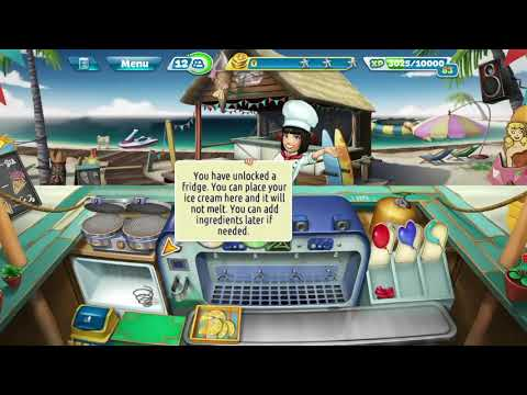 Cooking Fever- Ice Cream Bar Level 3